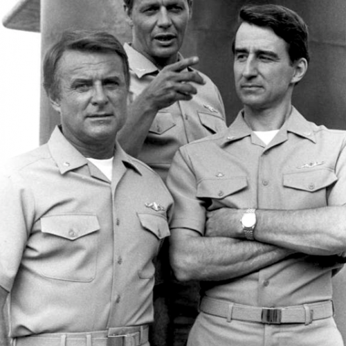 Robert Conrad, David Soul, and Sam Waterston • The Fifth Missile