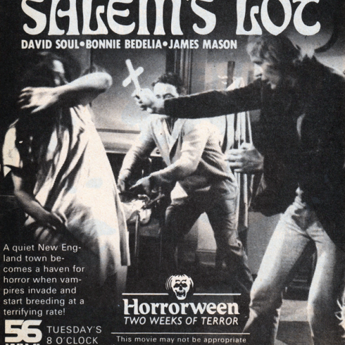 David Soul • Television Advertisement • Salem's Lot