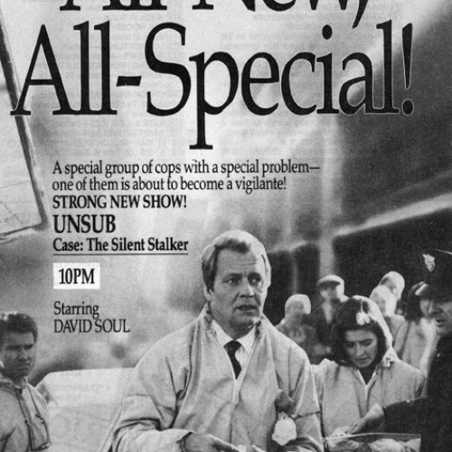 David Soul • TV Guide Advertisement • UNSUB