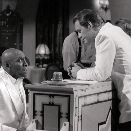 Scatman Crothers and David Soul • Casablanca