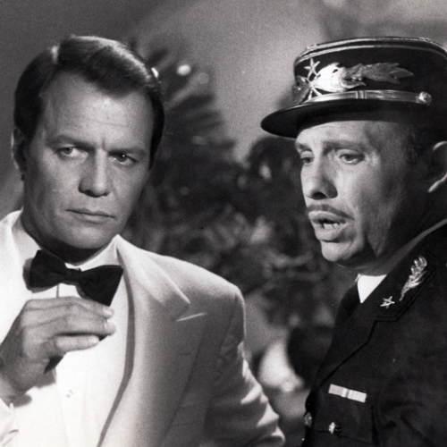 David Soul and Hector Elizondo • Casablanca