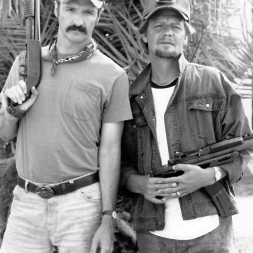 Michael Gross and David Soul • In the Line of Duty: The FBI Murders