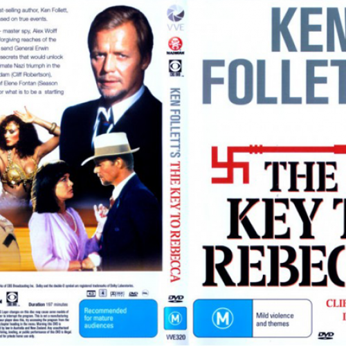 David Soul • DVD Cover • The Key to Rebecca