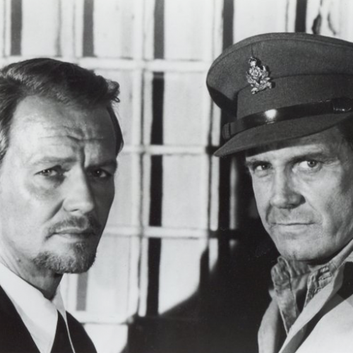 David Soul and Cliff Robertson • The Key to Rebecca