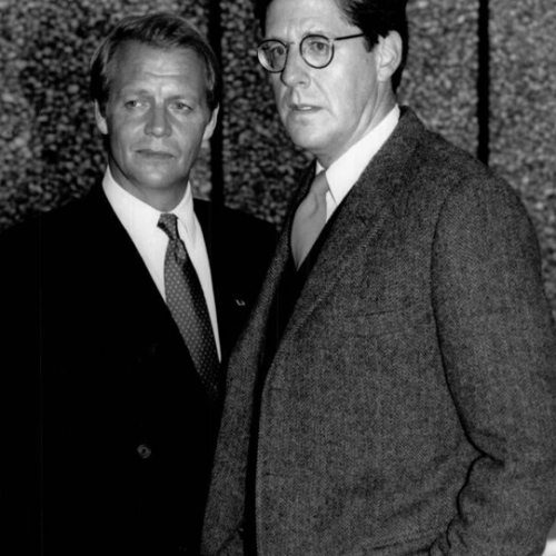 David Soul and Edward Herrmann • So Proudly We Hail