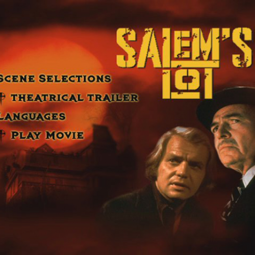 DVD Menu • Salem's Lot