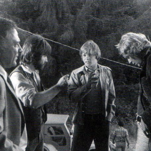 Ed Flanders, Lance Kerwin, and David Soul • Salem's Lot