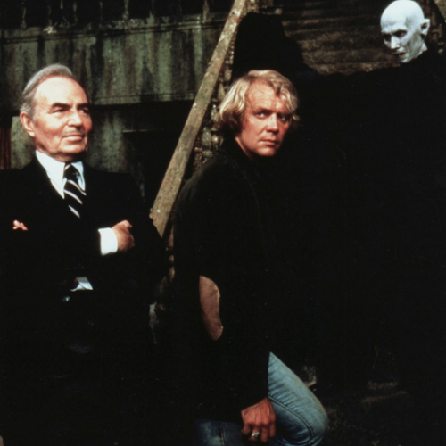 James Mason and David Soul • Salem's Lot