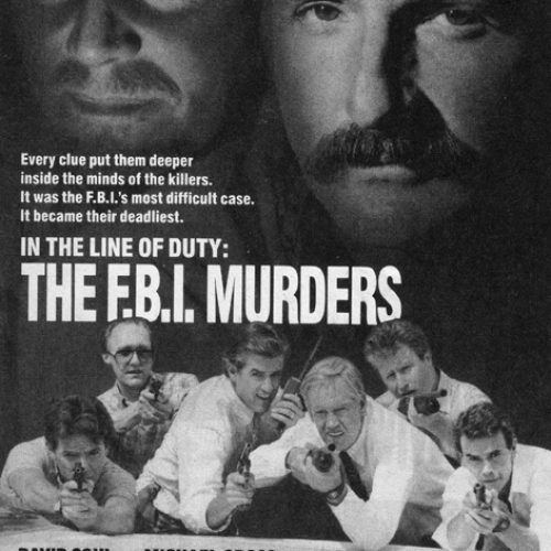 TV Guide Advertisement • In the Line of Duty: The FBI Murders