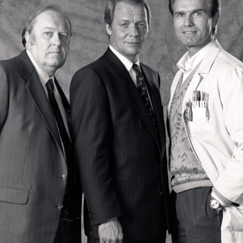 M. Emmet Walsh, David Soul, and Kent McCord • UNSUB
