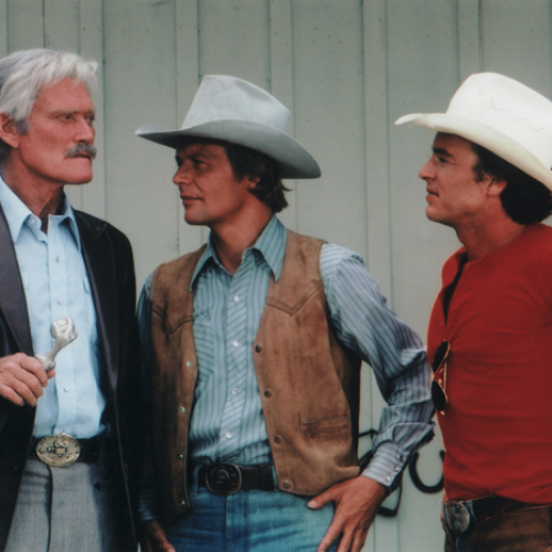 Chuck Connors, David Soul, and Edward Albert • The Yellow Rose