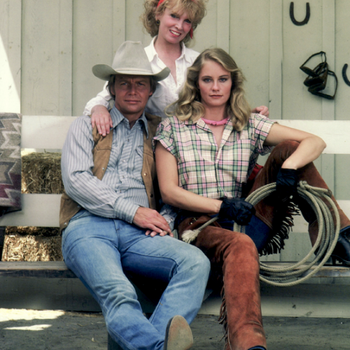 David Soul, Michelle Bennett, and Cybill Shepherd • The Yellow Rose