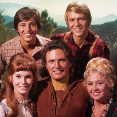 Bobby Sherman, David Soul, Bridget Hanley, Robert Brown, and Joan Blondell • Here Come the Brides