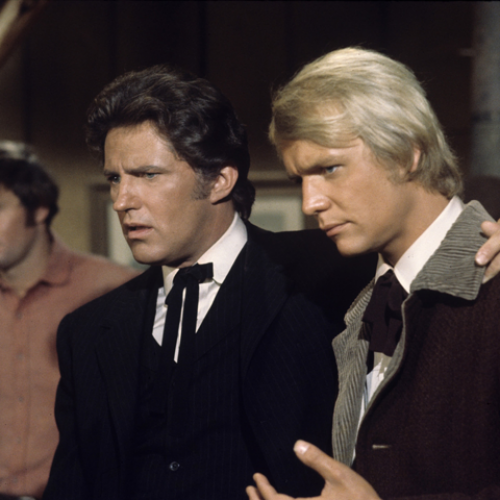 Robert Brown and David Soul • Here Come the Brides