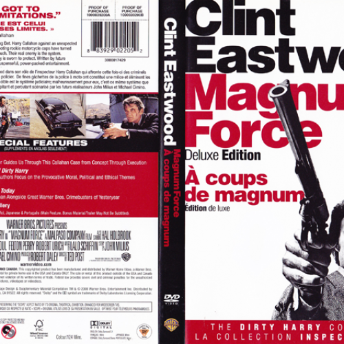 DVD Covers • Magnum Force