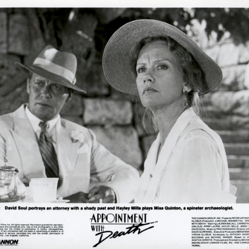 David Soul and Hayley Mills • Appointment With Death