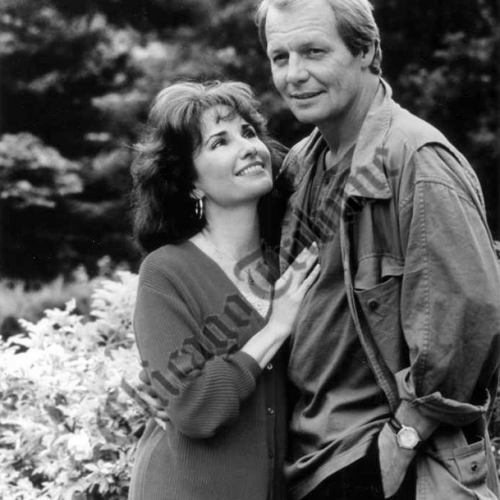 Susan Lucci and David Soul • The Bride in Black