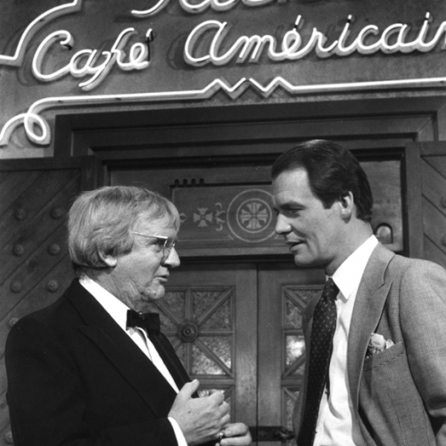 Arthur Malet and David Soul • Casablanca