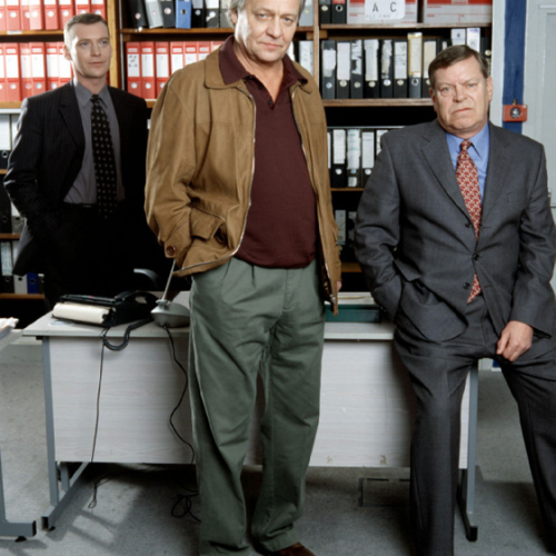 Colin Buchanan, David Soul, and Warren Clarke • Dalziel and Pascoe: A Game of Soldiers