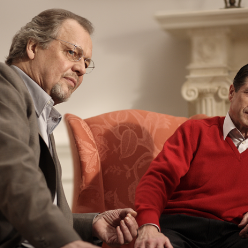 David Soul and Fred Ward • Inspector Lewis: The Indelible Stain
