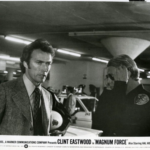 Clint Eastwood and David Soul • Press Photo • Magnum Force