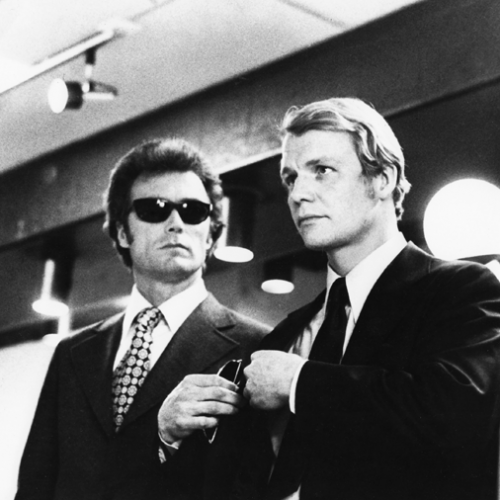 Clint Eastwood and David Soul • Magnum Force