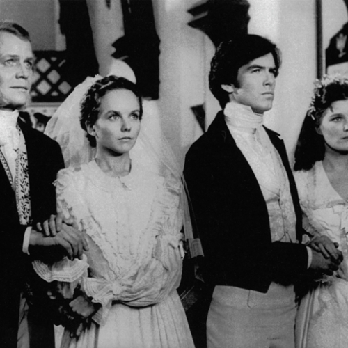 David Soul, Linda Purl, Pierce Brosnan, and Kate Mulgrew • The Manions of America