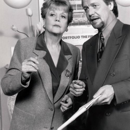 Angela Lansbury and David Soul • Murder, She Wrote: Threshold of Fear