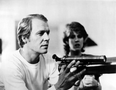 David Soul and Pam Dawber in 'Through Naked Eyes'