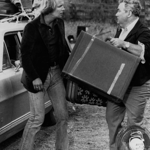 David Soul and Kenneth McMillan • Salem's Lot