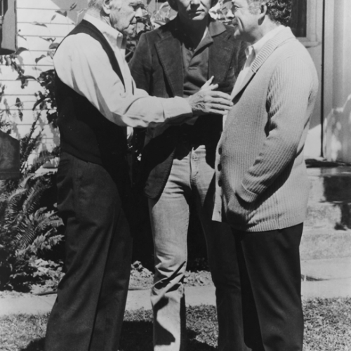 Lew Ayres, David Soul, and Ed Flanders • Salem's Lot