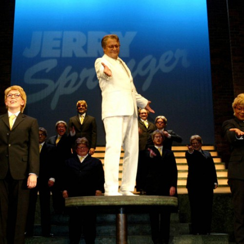 David Soul and Cast • Jerry Springer: The Opera