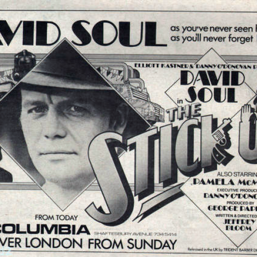 David Soul • Television Advertisement • The Stick-Up