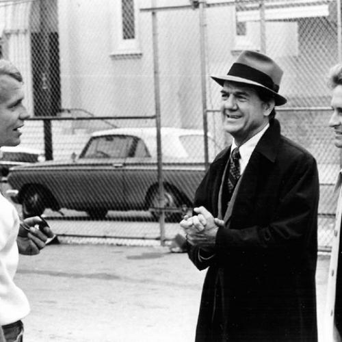 David Soul, Karl Malden, and Michael Douglas • The Streets of San Francisco: Hall of Mirrors