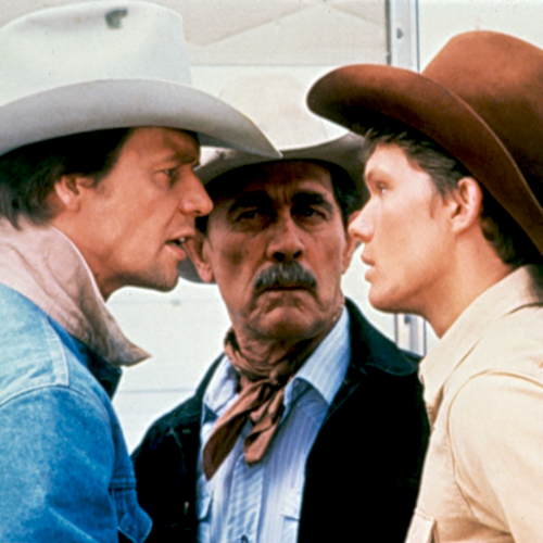 David Soul, Ken Curtis, and Tom Schanley • The Yellow Rose