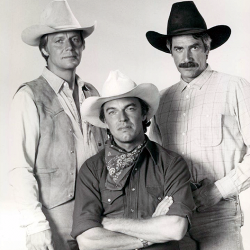 David Soul, Sam Elliott, and Edward Albert • The Yellow Rose
