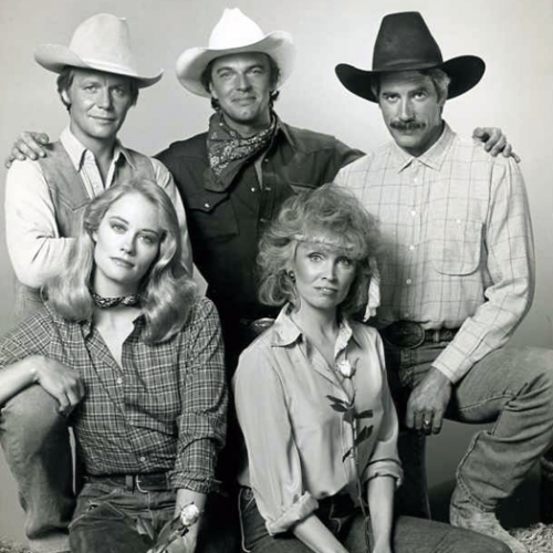 David Soul, Edward Albert, Sam Elliott, Cybill Shepherd, and Susan Anspach • The Yellow Rose